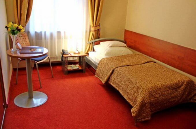 Pokój standard w Hotelu Europa w Kaliszu