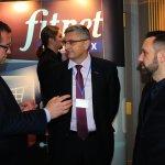 Grzegorz Sapiński (prezydent miasta Kalisza), Jarosław Bąchorek )organizator konferencji) oraz Radosław Janczak (prezes Aquapark Kalisz)